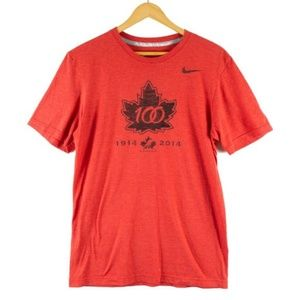 ✨3/$25✨Team Canada Hockey Nike Tee 100 Years - S